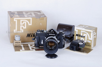 【新同品】NIKON/尼康 大F尖顶+FtN顶+50/1.4双顶黑漆套机#31784