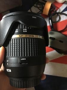 腾龙 SP AF 17-50mm f/2.8 XR Di II VC(B005)佳能EF卡口