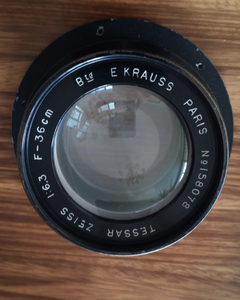 Krauss Zeiss Tessar 6.3/360 mm 依靠斯蔡司天塞