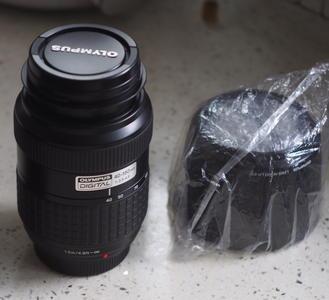 奥林巴斯 Olympus 单反镜头 40-150mm/3.5-5.6,近全新收藏成色
