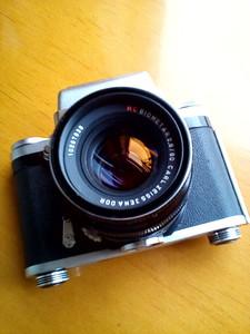 潘太康120胶片机一套、东蔡司广角镜头一枚、EPSON胶片扫描仪一台