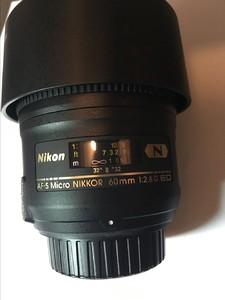 出自用 尼康 AF-S 微距尼克尔 60mm f/2.8G ED