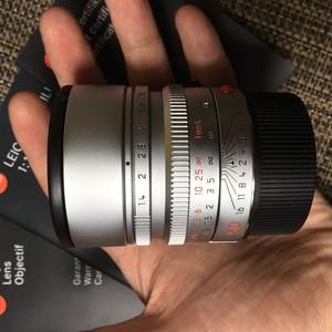 【出售自用】银色Leica Summilux-M 50 mm f/ 1.4 ASPH(99新)