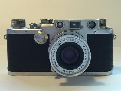 Leica IIIf 85成新 配镜头 Elmar f=5cm 1:2.8