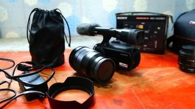 索尼VG30摄像机+蔡司16-35广角镜头F4
