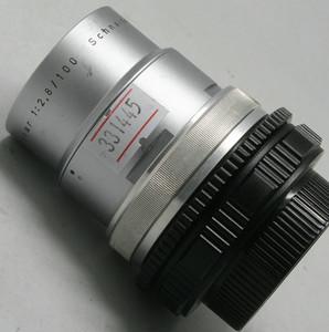 95新【施耐德】Tele-Xenar 100/2.8  改M42口(331445)