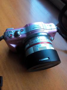 三阳7.5 f3.5镜头