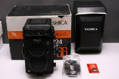 雅西卡 YASHICA 124G 雅西卡124G 亚西卡124G 全新展示机 带包装
