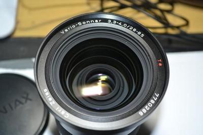 康泰时28-85 有遮光罩,装接环EF,UV镜