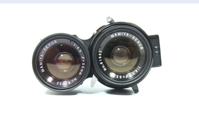 玛米亚Mamiya SEKOR 55mm F4.5 玛米亚C330双反镜头