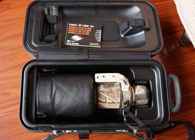 佳能 EF 500mm f/4L IS USM加1D4加1.4X增距镜