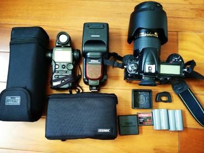 尼康nikonD300,SB-900,24-70mmF2.8,世光758,B+W UV CPL镜片