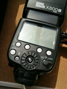 套出 品色 X800C PRO 佳能 TTL 内置2.4G引闪 kingpro收发一套