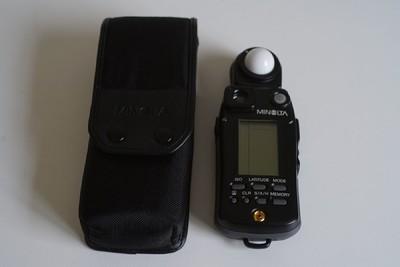 美能达 Minolta Flash Meter VI 6型 入射反射点 旗舰级测光表