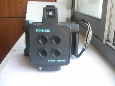 日本原产较新宝丽来四镜头经典相机,收藏使用