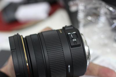 适马17-50mm /F2.8 EX DC OS HSM 尼康口 9.5成新
