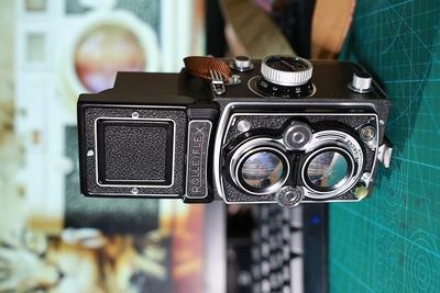 Rolleiflex MX-EVS 3.5 美品 施耐德头 带遮光罩滤镜皮套