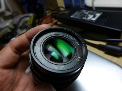 沈阳中一光学 SPEEDMASTER 25mmF/0.95