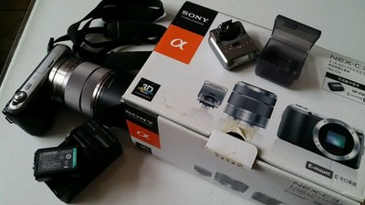 索尼 NEXc3套机,带18-55镜头。