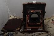 干净利落日产4×5木质座机带原装片夹#1592(欢迎议价,支持交换)