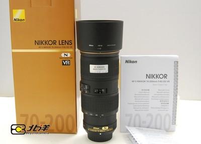 99新尼康AFS70-200/4G VR完美如新带包装(BG05160010)