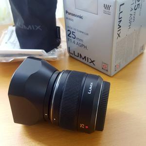 转自用松下LEICA徕卡DG 25mm f1.4 25/1.4镜头+肯高46mmUV滤镜