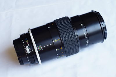 尼康AI口105mm专业微距手动镜头