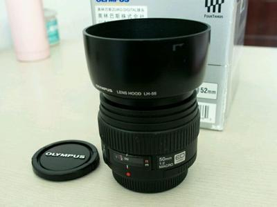 奥林巴斯50mm f/2.0 Macro镜头50F2专业定焦镜头送UV