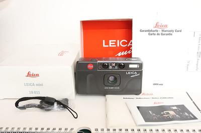 Leica mini  ELMAR 35/3.5 全新 带包装说明书