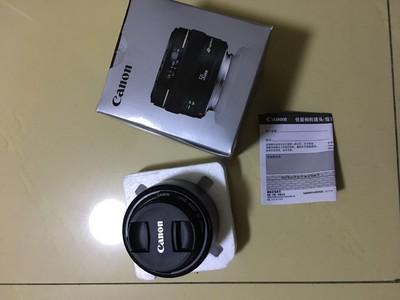 佳能 EF 50mm f/1.4 USM超新还送B+W超薄UV镜