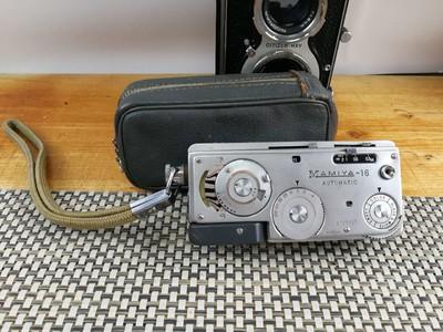 玛米亚-16 AUTOMATIC 微型相机