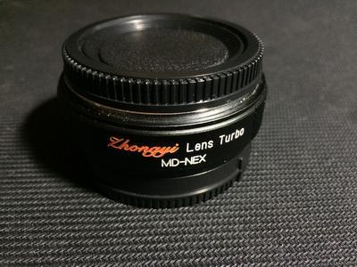 中一光学 MD转NEX减焦增光镜