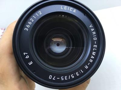 出莱卡R镜头35-70 3.5L E67德产96新,带佳能转换环,编号吉利
