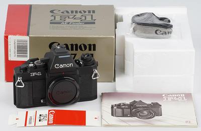 新同包装 佳能新F1 F-1 Canon New F-1 AE旗舰级135胶片相机