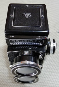 Rolleiflex/禄来 Distagon 55/4 双反广角机