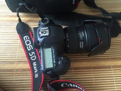 佳能 5D Mark III加24-70镜头!