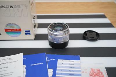 蔡司 35/2.8 zm 徕卡口 C Biogon 35mm f/2.8