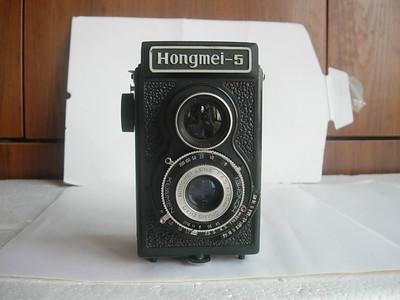 很新红梅HM5双反相机,收藏使用精品