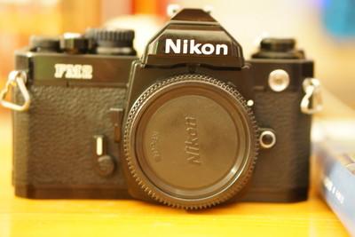 出售到手不久的Nikon FM2 带35F2镜头