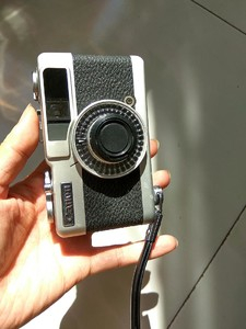 佳能canon半格相机Demi EE28胶片35MM金属旁轴相机28/2.8广角镜头