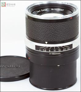 禄来 ROLLEIFLEX SL66用 Carl Zeiss Planar150/4 中焦人像镜头