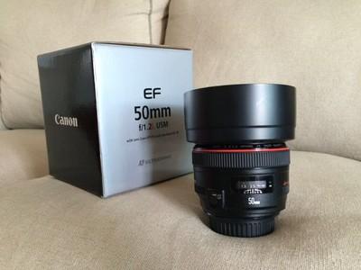 佳能 EF 50mm f/1.2L USM国行镜头出售