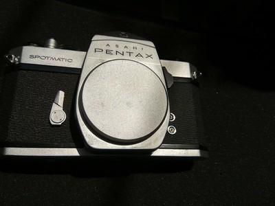 宾得Asahi Pentax spotmatic全幅胶片金属相机M42螺口镜头458