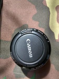 原装Canon佳能EF 50mm f1.8 II小痰盂二代人像自动单反定焦镜头