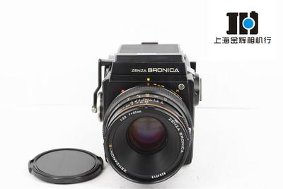Bronica勃朗尼卡 SQ Zenza+80/2.8镜头+6X6背 中幅胶片相机套机