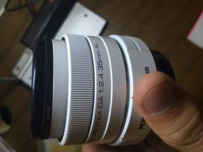 9.9新 DA 35mm f/2.4 白色 箱说全