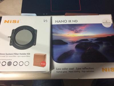 Nisi V5滤镜系统+100mm ND1000方形减光镜