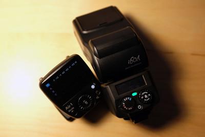行货带票 日清 i60A 带无线引闪器 几乎全新 sony口 A7R 2 ii