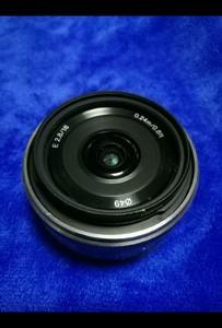 索尼E卡口nex 16mmF2.8广角定焦镜头