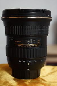 图丽 AT-X 11-20mm f/2.8 PRO DX